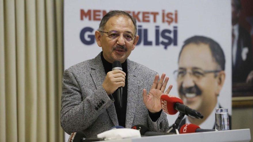 Mehmet Özhaseki coronaya yakalandı