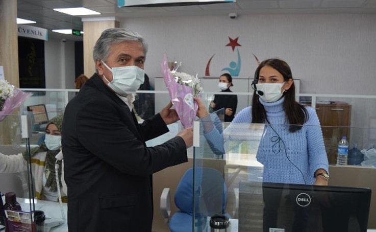 DTO sağlık çalışanlarını unutmadı