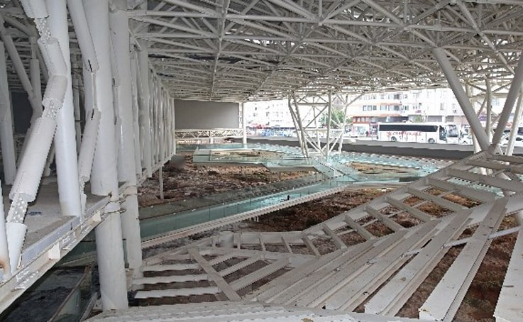 Doğu Garajı ve Nekropol projelerinin yüzde 95'i bitti