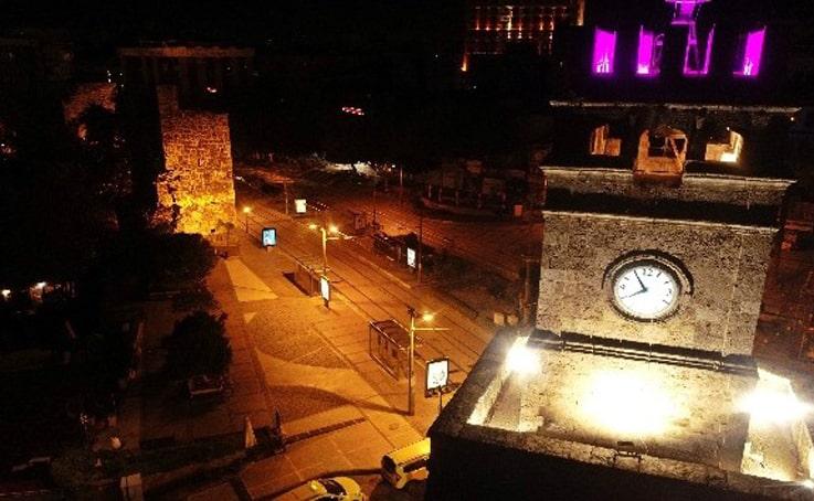 Antalya'da yılbaşı gecesi turistlere kısıtlama