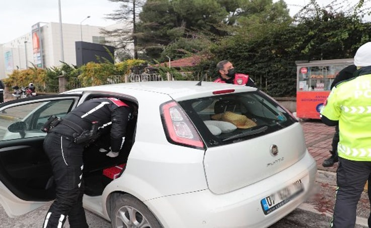Antalya'da, Türkiye Güven ve Huzur Uygulaması