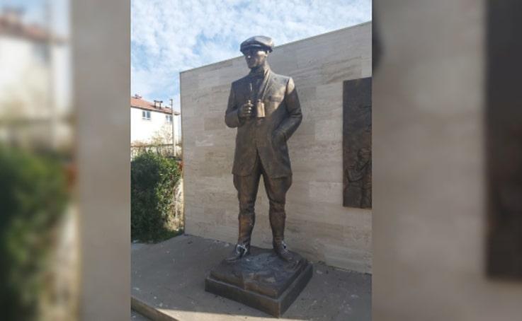 Atatürk büstlerine zarar veren şüpheli, gizlendiği bağ evinde yakalandı