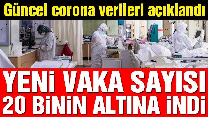 Son dakika… Güncel corona virüsü verileri açıklandı! İşte 21 Aralık tablosu