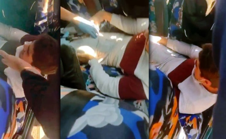 """Otomobilde sıkıştı, """"Lütfen kesmeyin bacağımı """"diye ağladı"""
