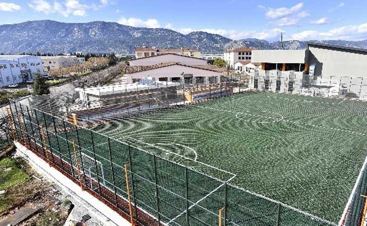 Antalya OSB'de spor zamanı
