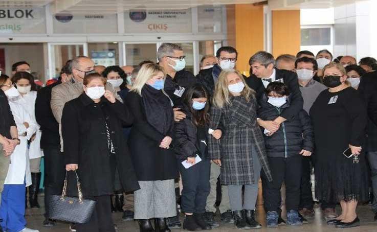 Prof. Dr. Bülent Veli Ağırdır son yolculuğuna uğurlandı