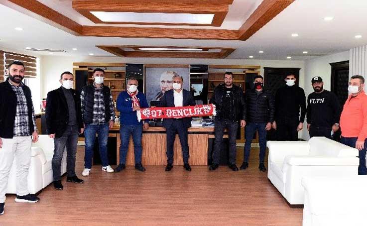Antalyaspor'un 55'inci doğum gününde Muratpaşa'dan Taraftar Kahvesi