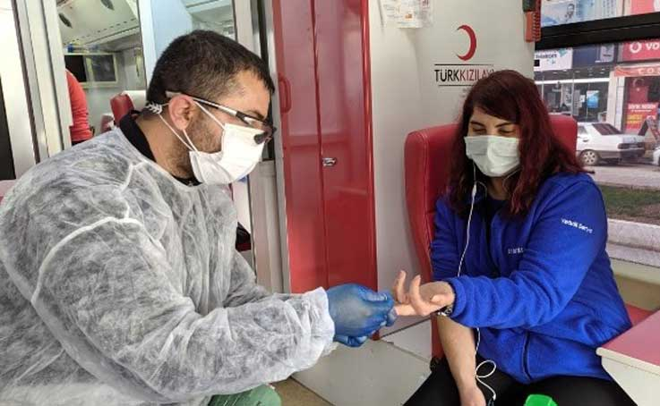Kumluca'da 2 hafta süreli kan bağışı