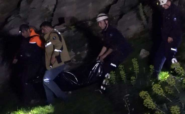 Dağa çıkan 11 yaşındaki çocuğun cesedi 150 metre yükseklikteki kayalık alanda bulundu