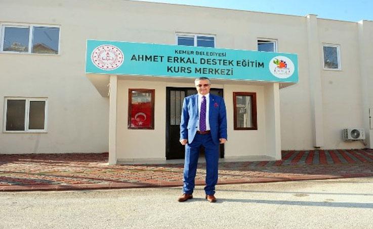 Kemer'de destek eğitim kursları devam ediyor