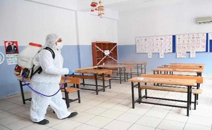 Konyaaltı'nda okullar eğitime hazır