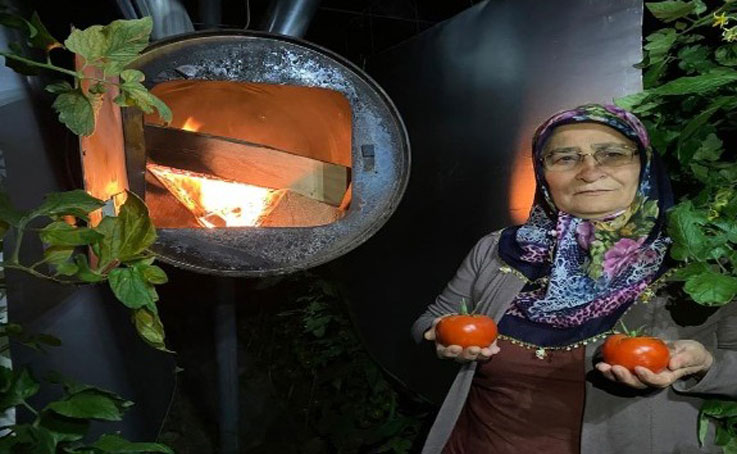 Kadın çiftçilerin don nöbeti