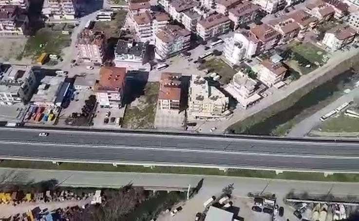 Antalya'da havadan ve karadan trafik denetimi