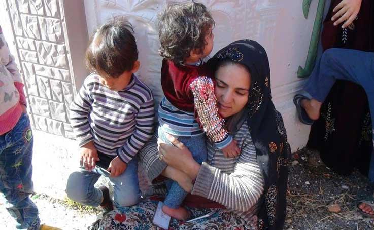 Antalya'da evdeki yangında mahsur kalan çocukları anneleri kurtardı
