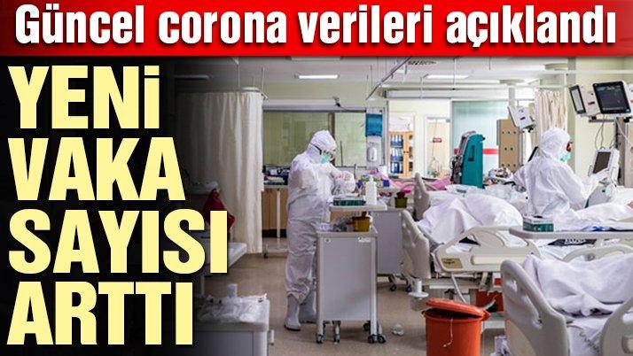Son dakika… Güncel corona virüsü verileri açıklandı! İşte 2 Şubat tablosu