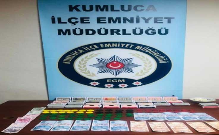 Korona virüsü hiçe sayıp kumar oynayanlara polisten ceza yağdı