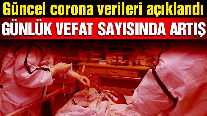 Sağlık Bakanlığı vaka ve vefat sayısını açıkladı! İşte 7 Şubat corona tablosu