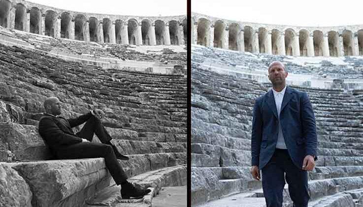Hollywood yıldızı Jason Statham'ın Antalya paylaşımına beğeni yağdı