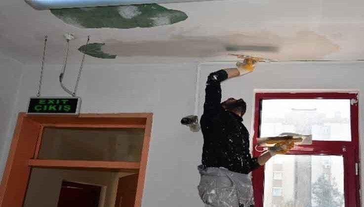 Konyaaltı'nda okullar yenileniyor