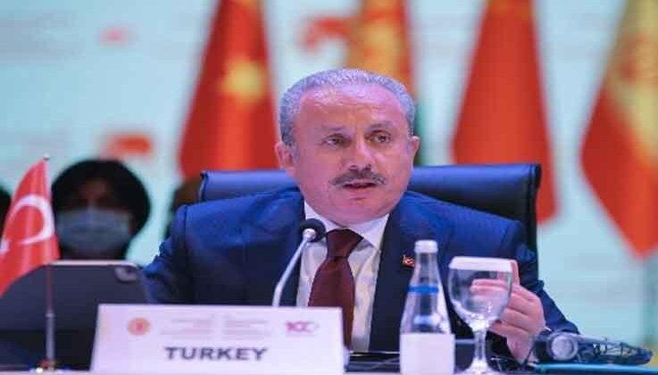 """TMBB Başkanı Şentop: """"Dünyanın en zengin ülkesi olmasak da gönlü bol bir ülke olarak bilinmekten gurur duyacağız"""""""