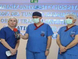 Akdeniz Üniversitesi'nde hedef ince bağırsak ve akciğer nakli