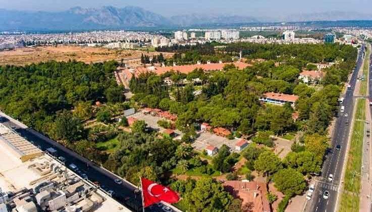 Şehrin merkezine 332 dönüm yeşil alan