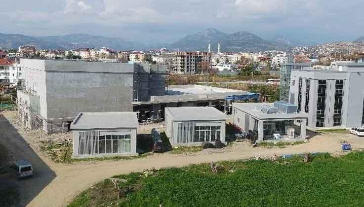 Kültür Merkezi açılış için gün sayıyor