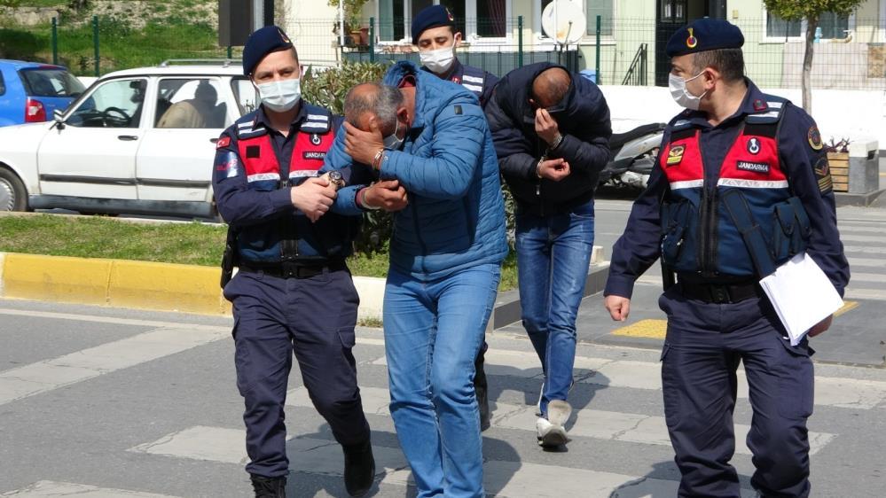Yasak saatinde hırsızlık yaptılar, çaldıklarının 10 katı yasak ve maske cezası yediler
