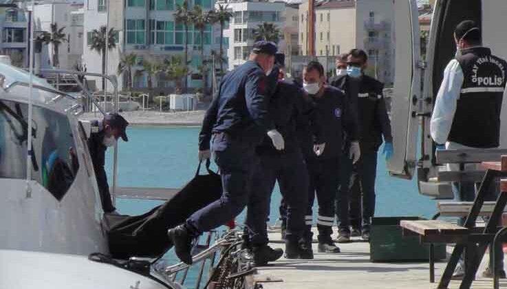 Kemer'de denizde bulunan erkek cesedine DNA testi yapılacak