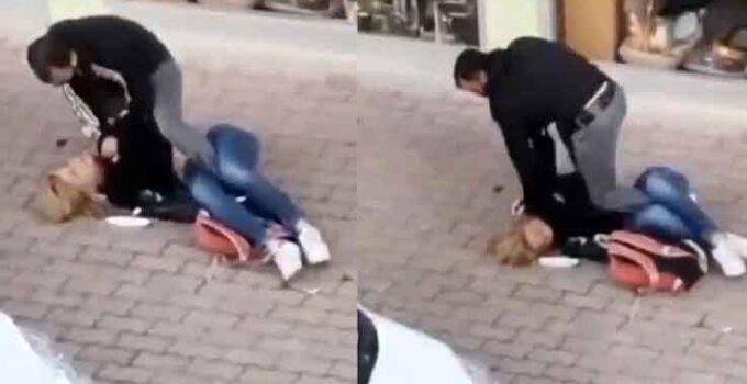 Sokakta, tartıştığı trans bireyi dövdü