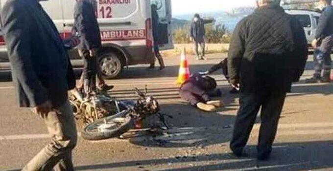 Kaş'ta kaza: 1 yaralı