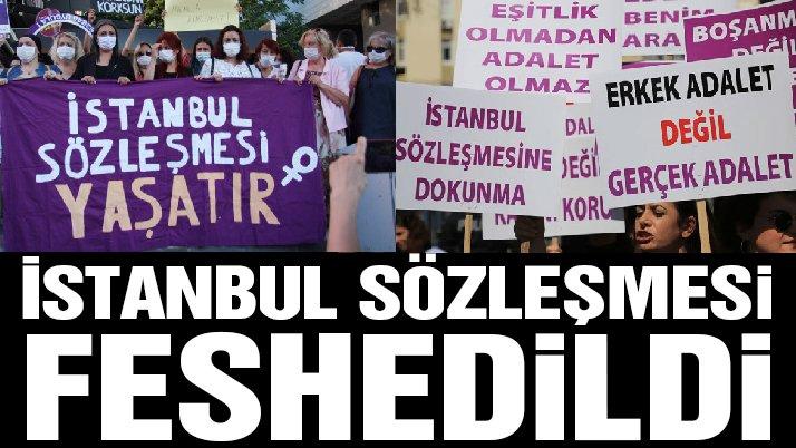 İstanbul Sözleşmesi ile ilgili Cumhurbaşkanı Karar'ı Resmi Gazete'de
