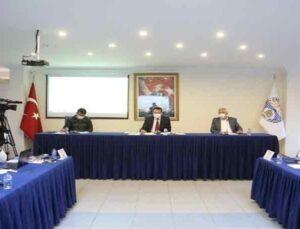 Kaş Belediyesinin 2020 yılı faaliyet raporu kabul edildi