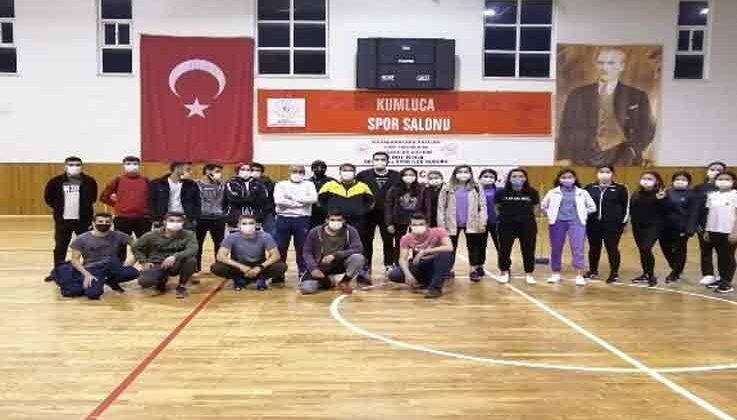 Kumluca'da polis adayları için kurs düzenlendi