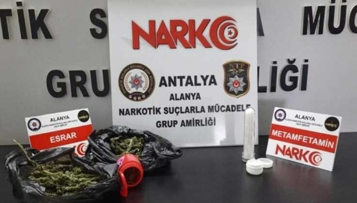 Alanya'da tırda uyuşturucu ele geçirildi