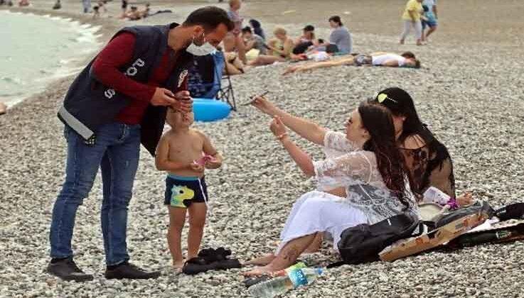 Bakan Soylu'nun açıklamasının ardından dünyaca ünlü sahilde sıkı denetim