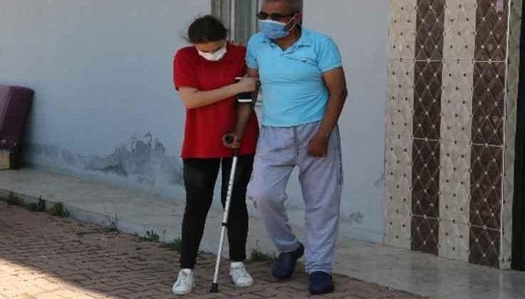 Akülü sandalyesini çalan hırsıza gözyaşları içinde beddua eden adam yeni aracına kavuştu