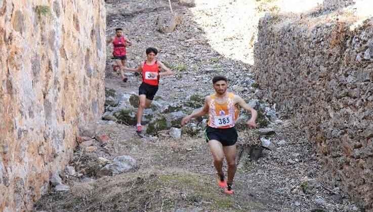 Türkiye Dağ Koşusu Şampiyonası, Alanya'da yapıldı