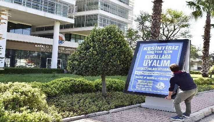 Antalya OSB'de 'Mavi OSB Mavi Antalya' hareketi başladı