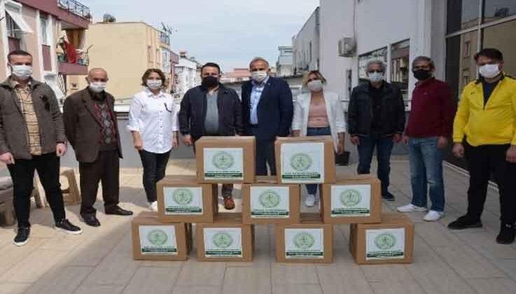 Antalya Konyalılar Derneği'nden, 500 aileye destek