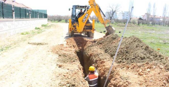 Korkuteli'de dört mahallede içme suyu imalatı yapıldı