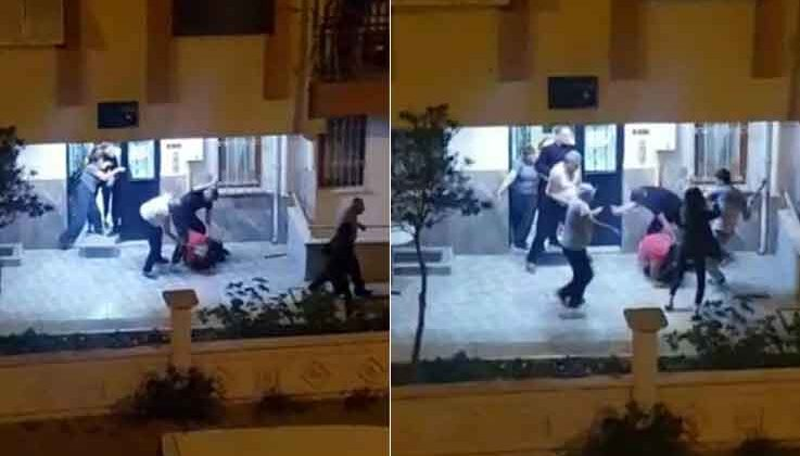 Önce kız arkadaşına saldırdı, ardından araya giren komşusunun yüzünü çatalla parçaladı