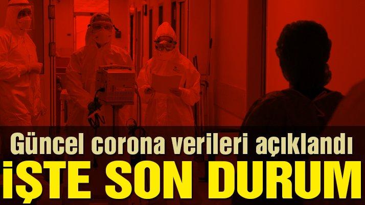 Sağlık Bakanlığı güncel corona virüsü verilerini açıkladı! İşte 29 Mayıs tablosu