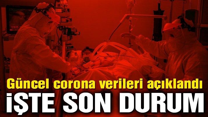 Sağlık Bakanlığı güncel corona virüsü verilerini açıkladı! İşte 24 Mayıs tablosu