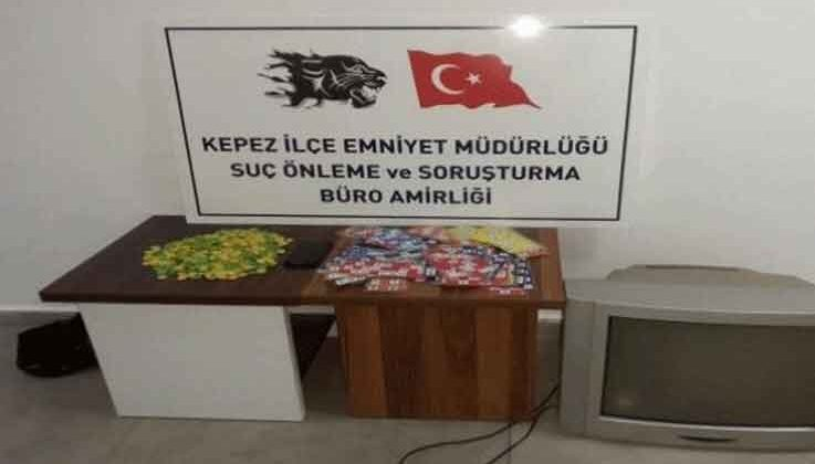 Antalya'da dev kumar operasyonu: 16 kişiye 71 bin 376 TL ceza