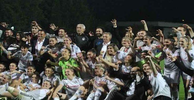 Kadınlar Ligi şampiyonu Beşiktaş Vodafone oldu
