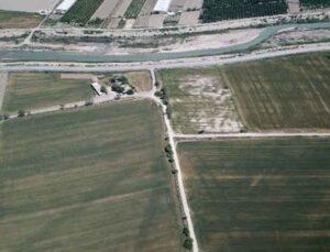 Akdeniz Üniversitesi'nin Aksu ilçesindeki arazisi havadan takip altında