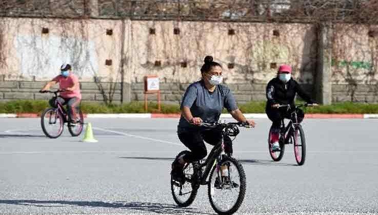 Yaz dönemi bisiklet sürüş eğitimleri başladı