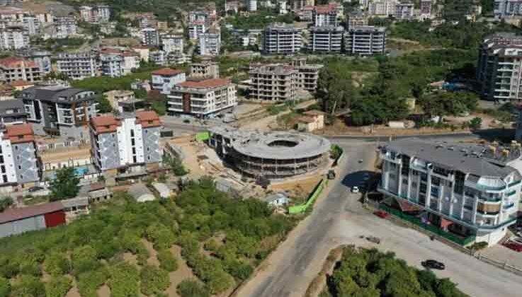 Alanya Belediyesi Kreş ve Gündüz Bakımevi inşaatında sona gelindi