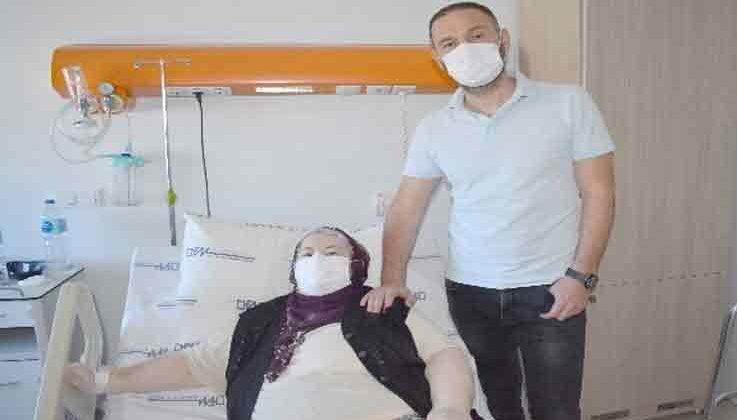 Nevşehir'den Antalya'ya robotik protez cerrahisi için geldi, sağlığına kavuştu